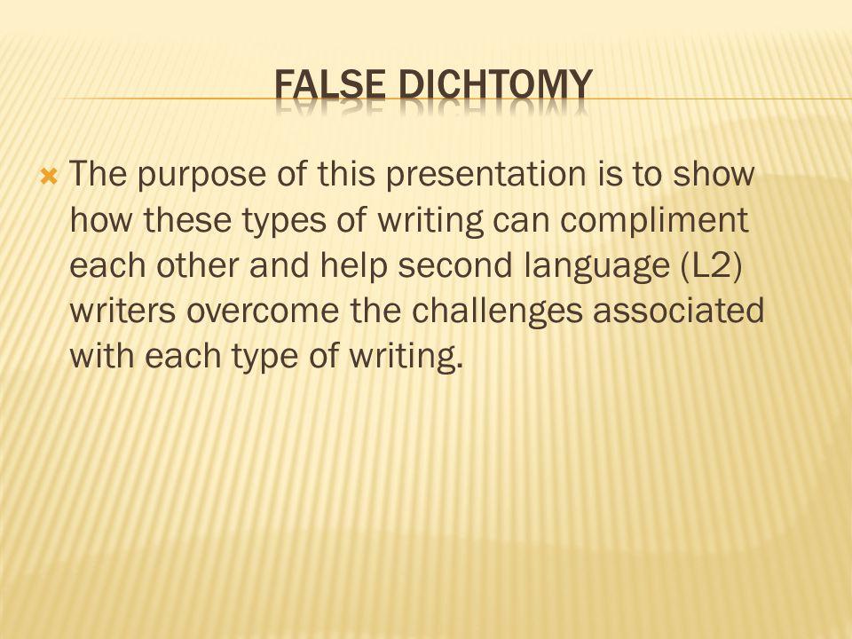  Leki (1991/1992)  Develops authorial expertise (p.