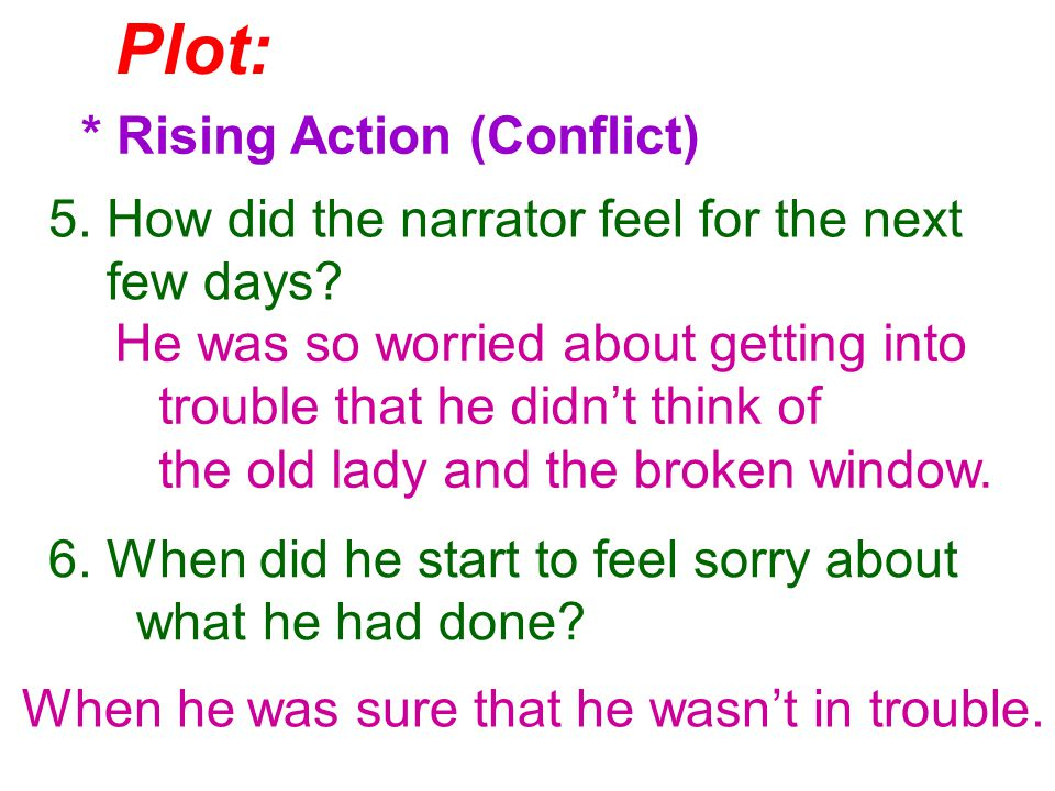 ***What kind of conflict is it in the story?