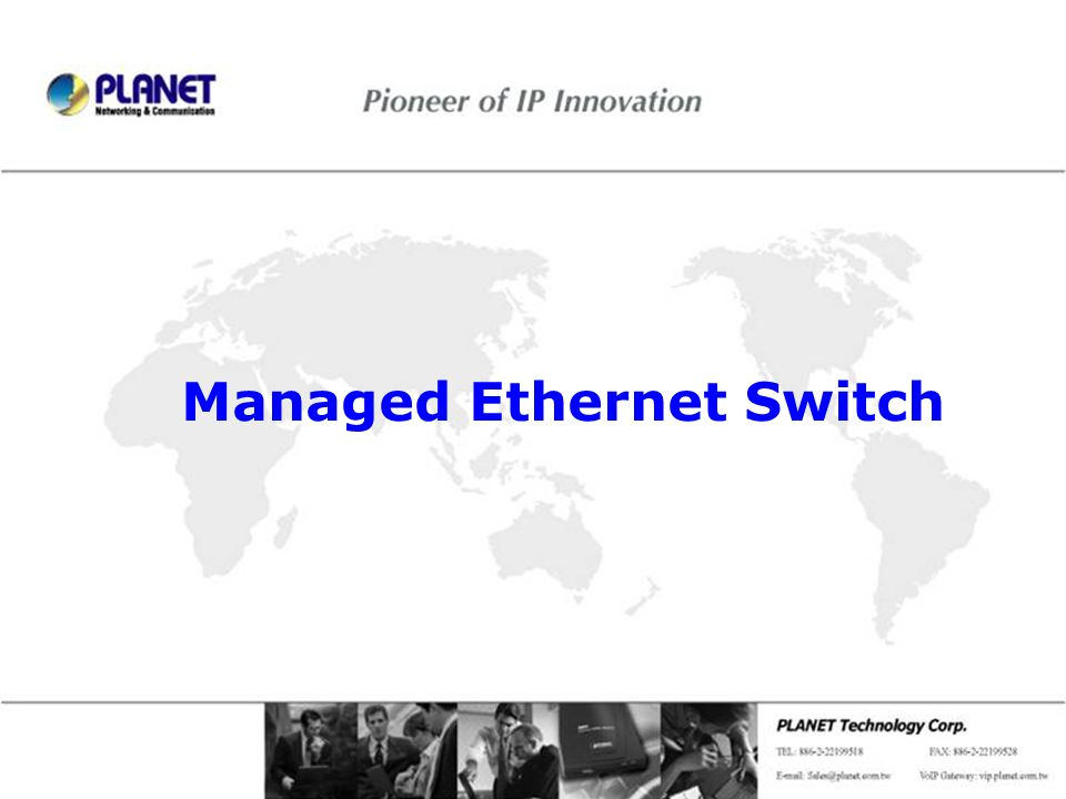 Managed Ethernet Switch