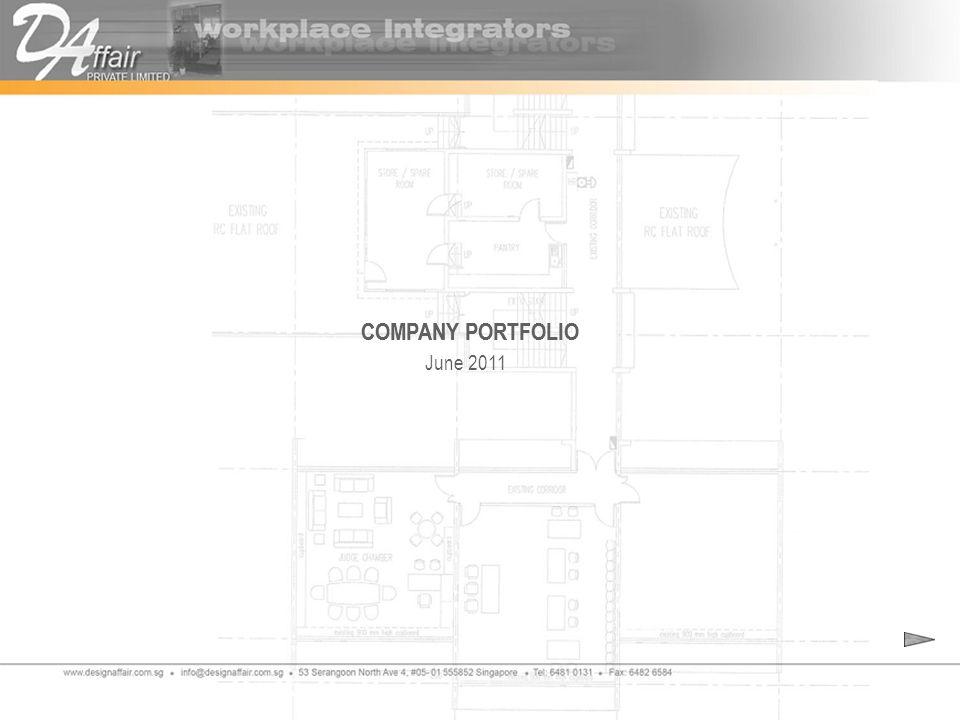 June 2011 COMPANY PORTFOLIO