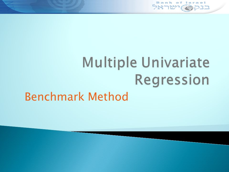 Benchmark Method