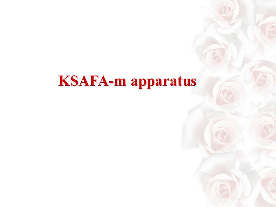 KSAFA-m apparatus