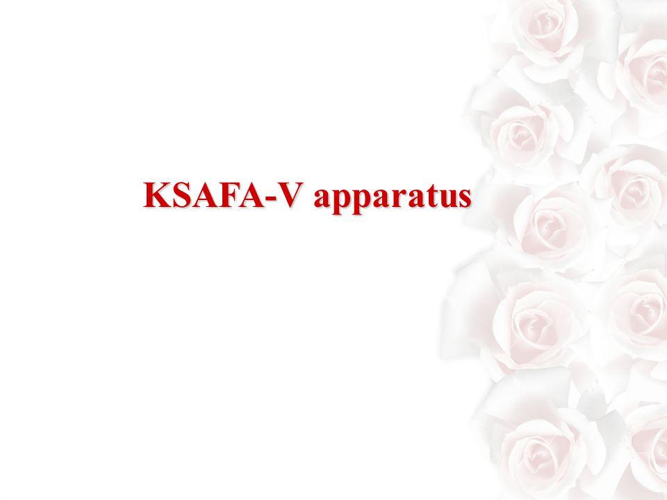 KSAFA-V apparatus