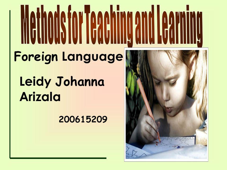 Foreign Language Leidy Johanna Arizala 200615209