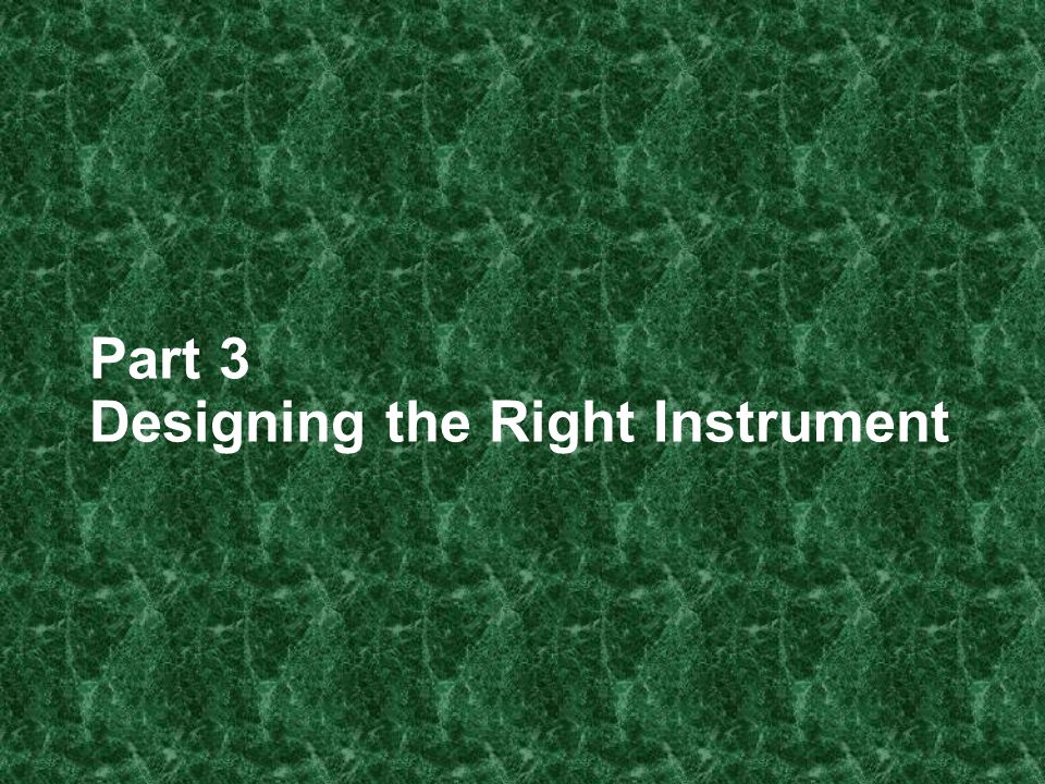 Instrument Design Commonly used instruments in SLA research – Scored tests – Rater scores – Surveys – Interviews Consider your eventual data analysis when developing instruments