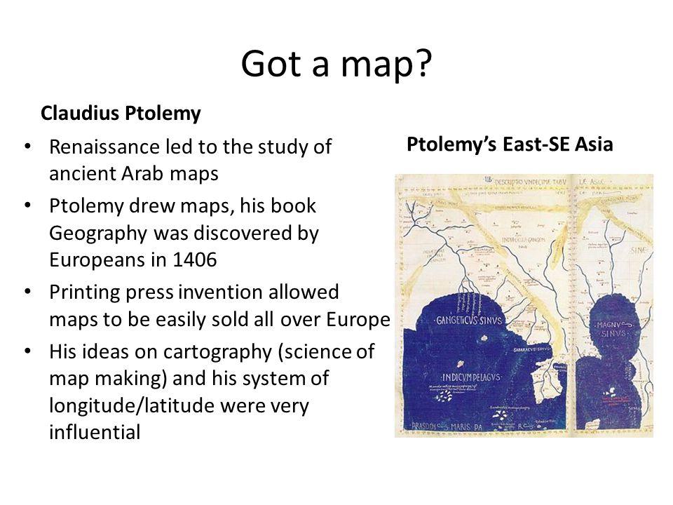 Got a map.