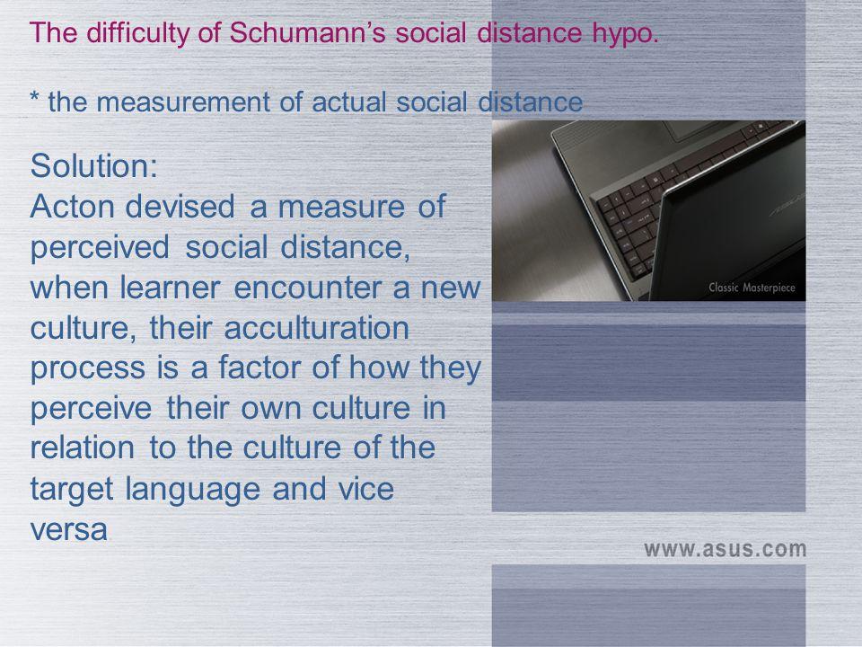 Schumann s hypothesis.
