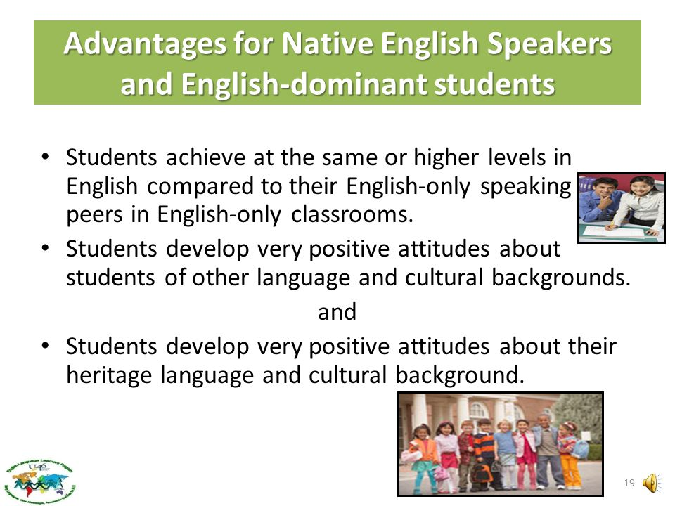 Frequently Asked Questions What advantages are there for my child in a Dual Language program? Students develop high academic achievement in reading, w