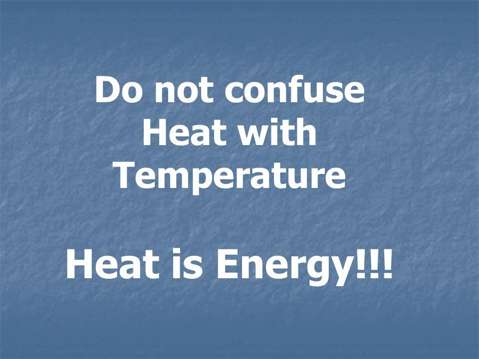 Heat Flow = Heat Energy Transferred Rate Elapsed Time Q H = H t Units Am. St. [Btu/hr] = [Btu] / [hr] S.I. [cal/min] = [cal] / [min] [J/sec] = [J] / [