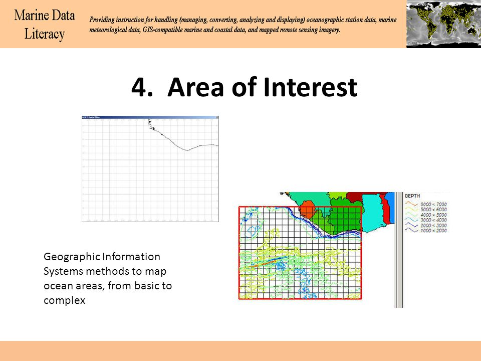 4, continued High resolution ancillary data for coastal zone considerations