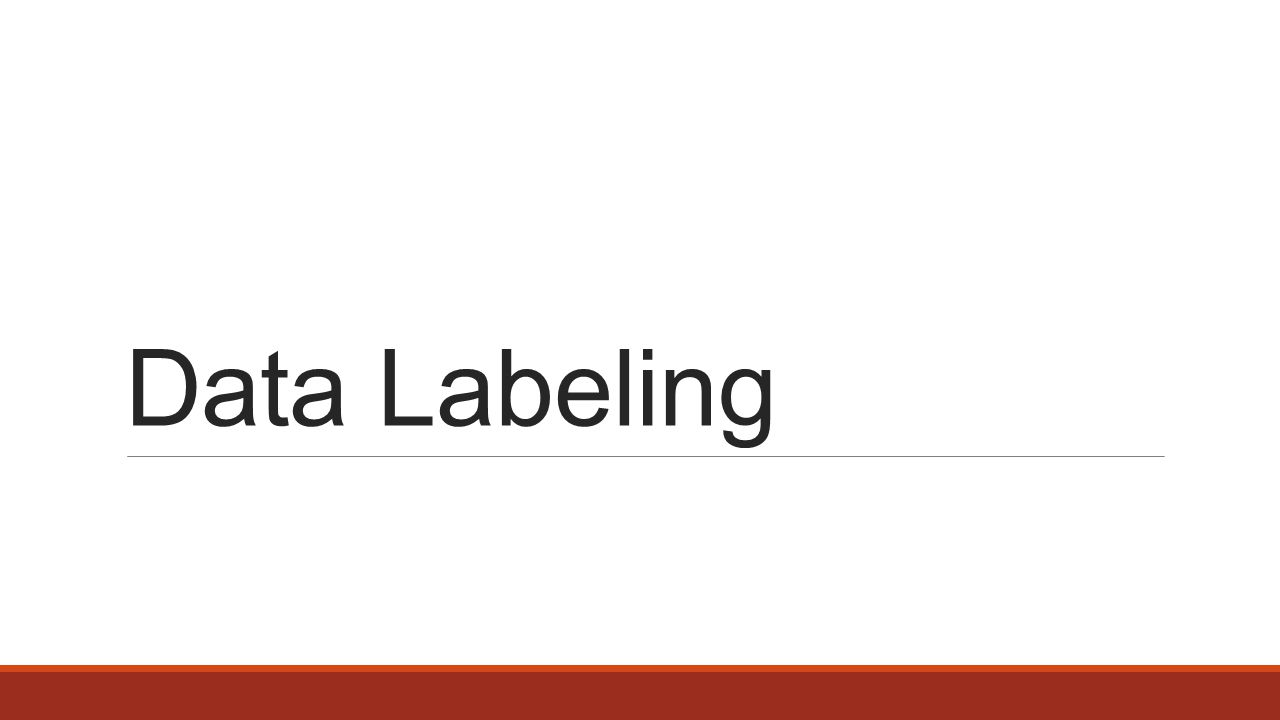 Data Labeling