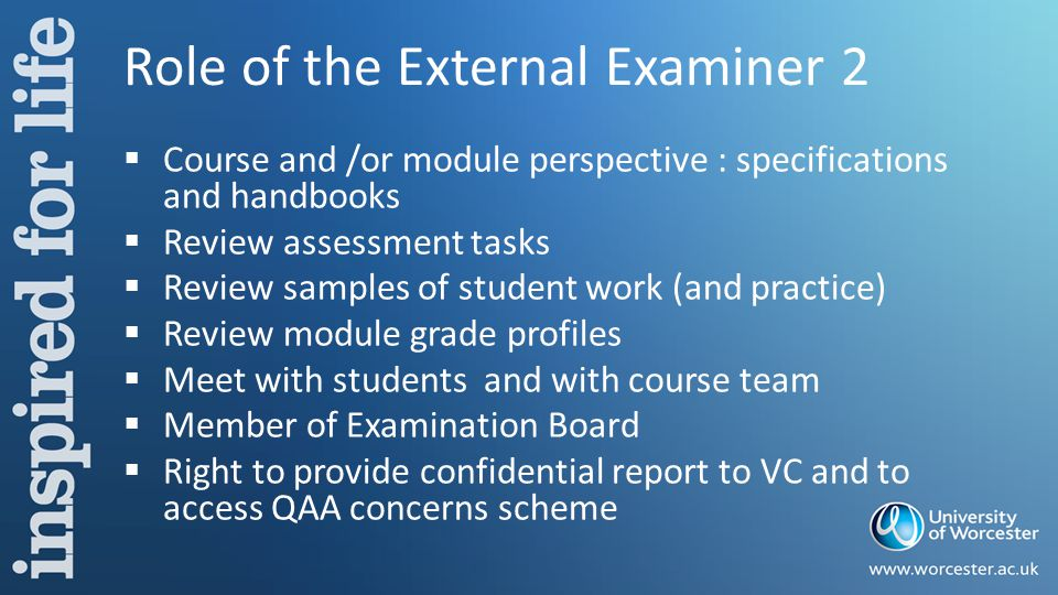 Standard Agenda  Apologies for absence  Approval of minutes  Matters Arising  Consideration of Grades  Recommendations for failing students  Re-assessment  Comments from the external examiners  Module Statistics and module moderation group