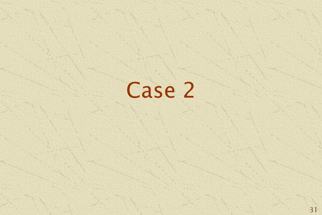 31 Case 2