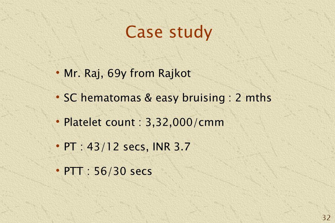 32 Case study Mr.