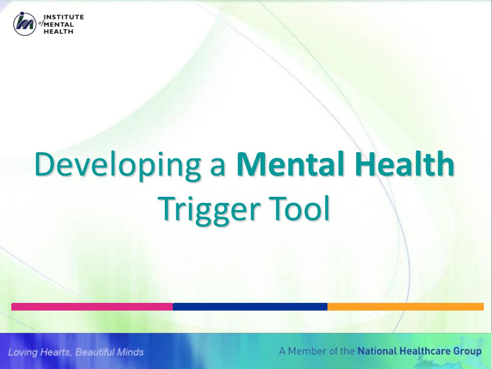Developing a Mental Health Trigger Tool