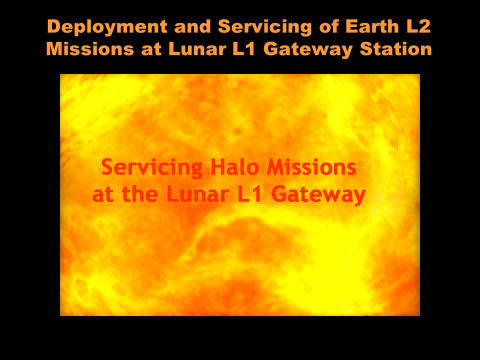 Lunar L 1 Gateway Deployment and Servicing of Earth L2 Missions at Lunar L1 Gateway Station