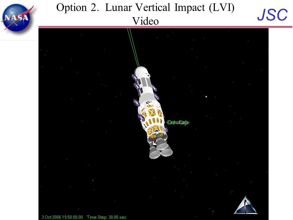 JSC 18 Option 2. Lunar Vertical Impact (LVI) Video