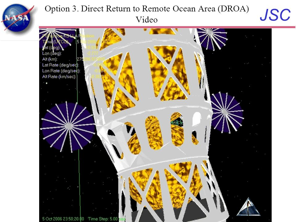 JSC 24 Option 3. Direct Return to Remote Ocean Area (DROA) Video