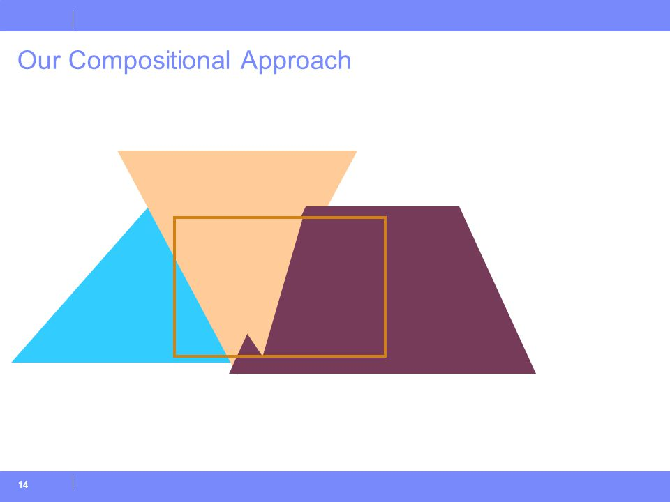 14 Our Compositional Approach