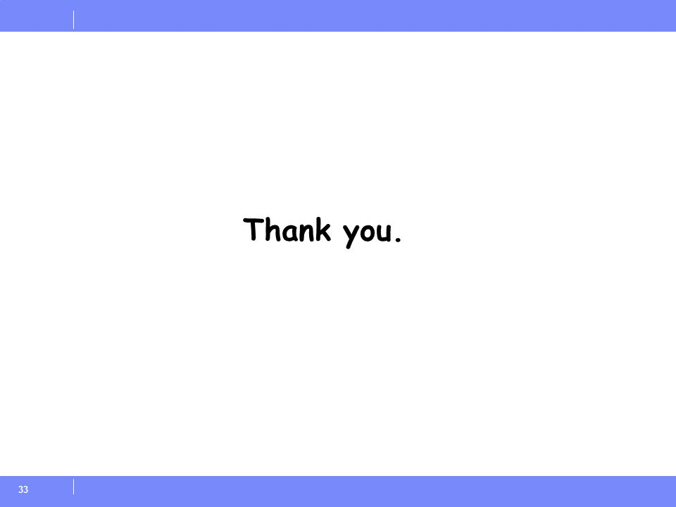 33 Thank you.