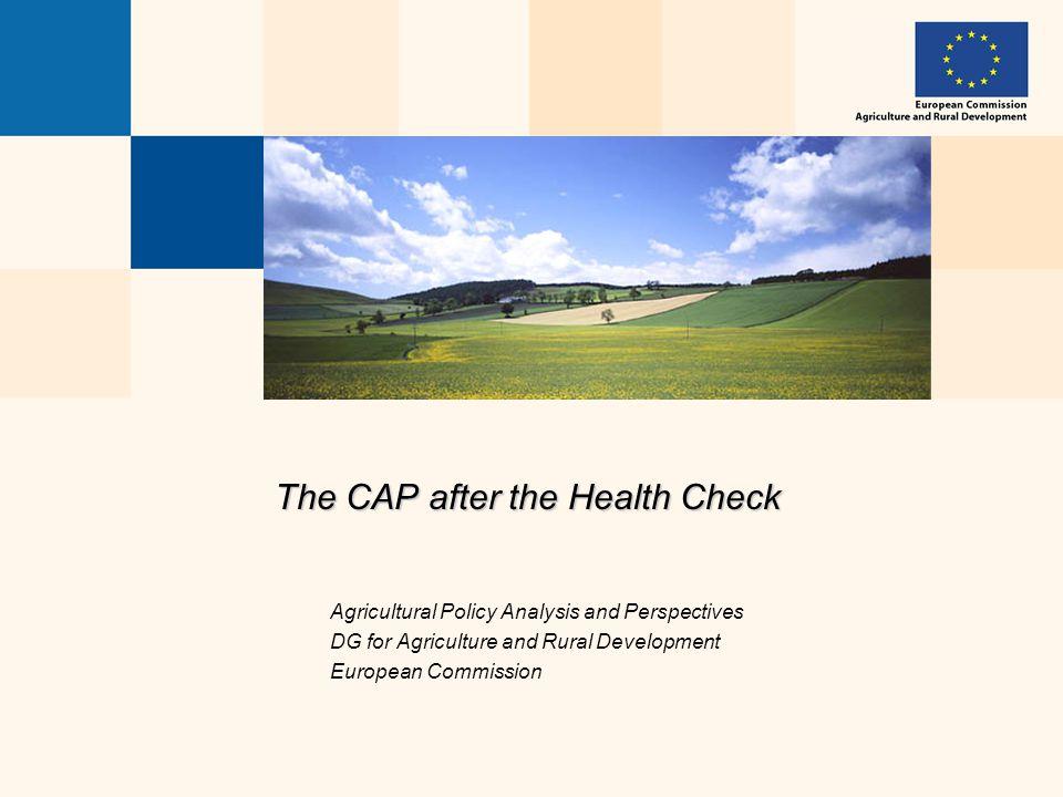 AGRI-L1CAP perspectives 2  1.The CAP today  2.The CAP until 2013  3.The CAP beyond 2013
