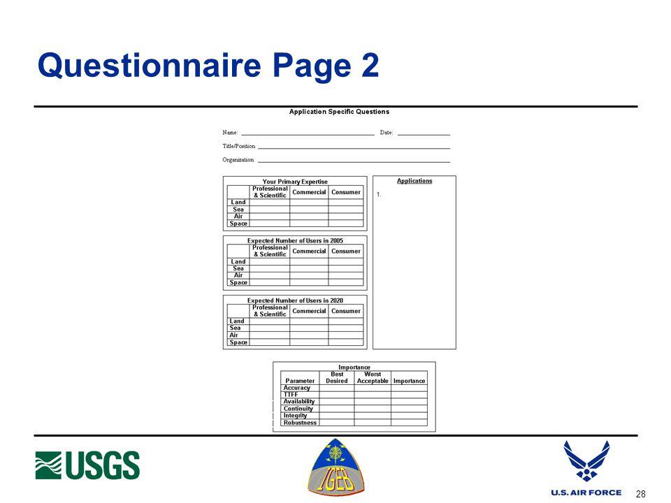 28 Questionnaire Page 2