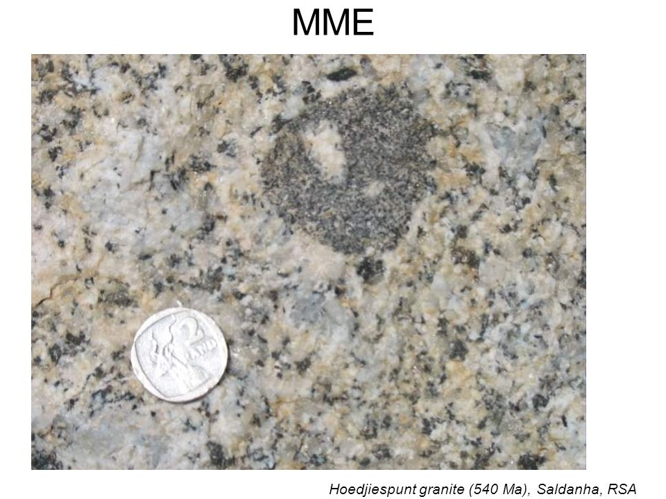 MME Hoedjiespunt granite (540 Ma), Saldanha, RSA