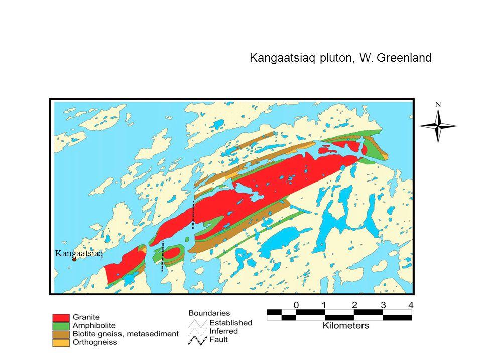 Kangaatsiaq Kangaatsiaq pluton, W. Greenland