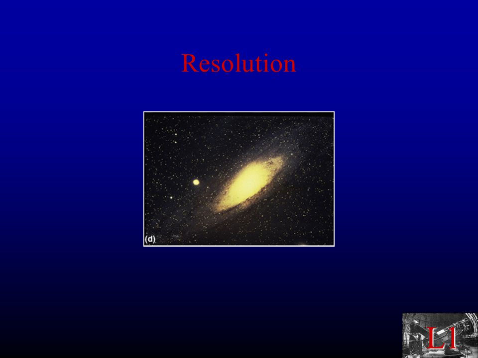 L1 Types of Telescopes