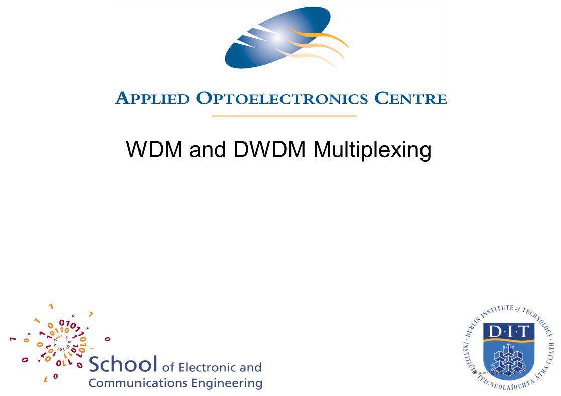 Source: Master 7_4 WDM and DWDM Multiplexing