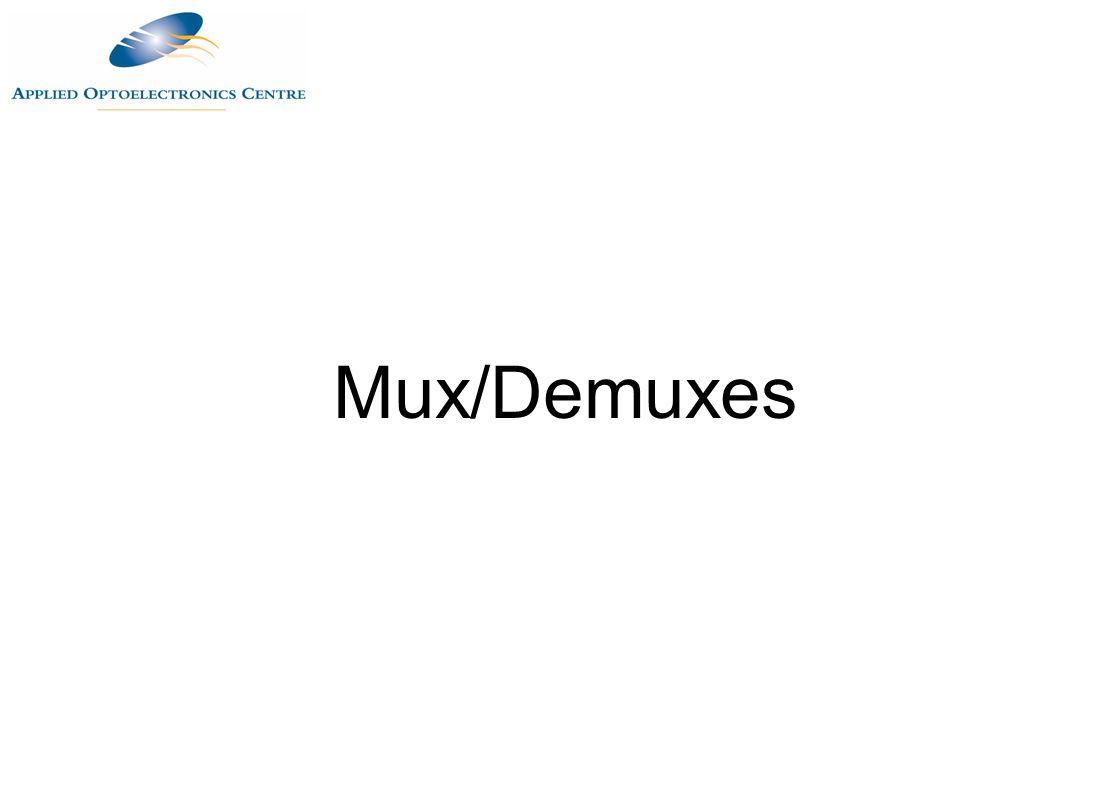 Mux/Demuxes