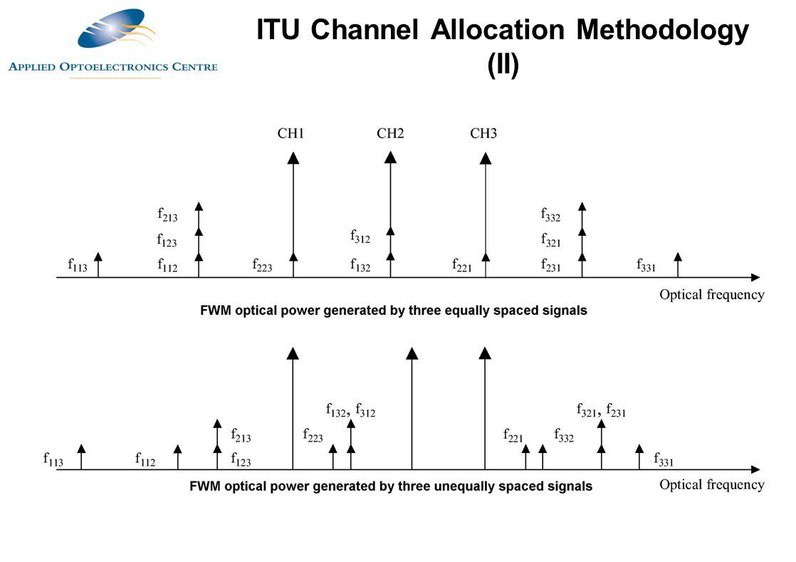 ITU Channel Allocation Methodology (II)