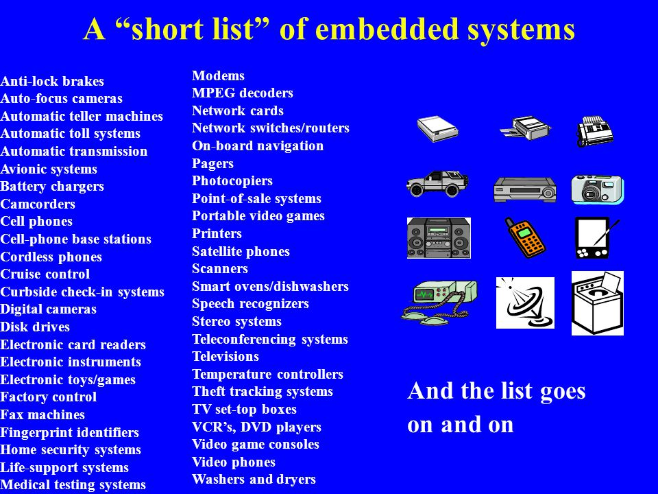 Summary Embedded systems are everywhere Key challenge: optimization of design metrics –Design metrics compete with one another A unified view of hardware and software is necessary to improve productivity Three key technologies –Processor: general-purpose, application-specific, single-purpose –IC: Full-custom, semi-custom, PLD –Design: Compilation/synthesis, libraries/IP, test/verification