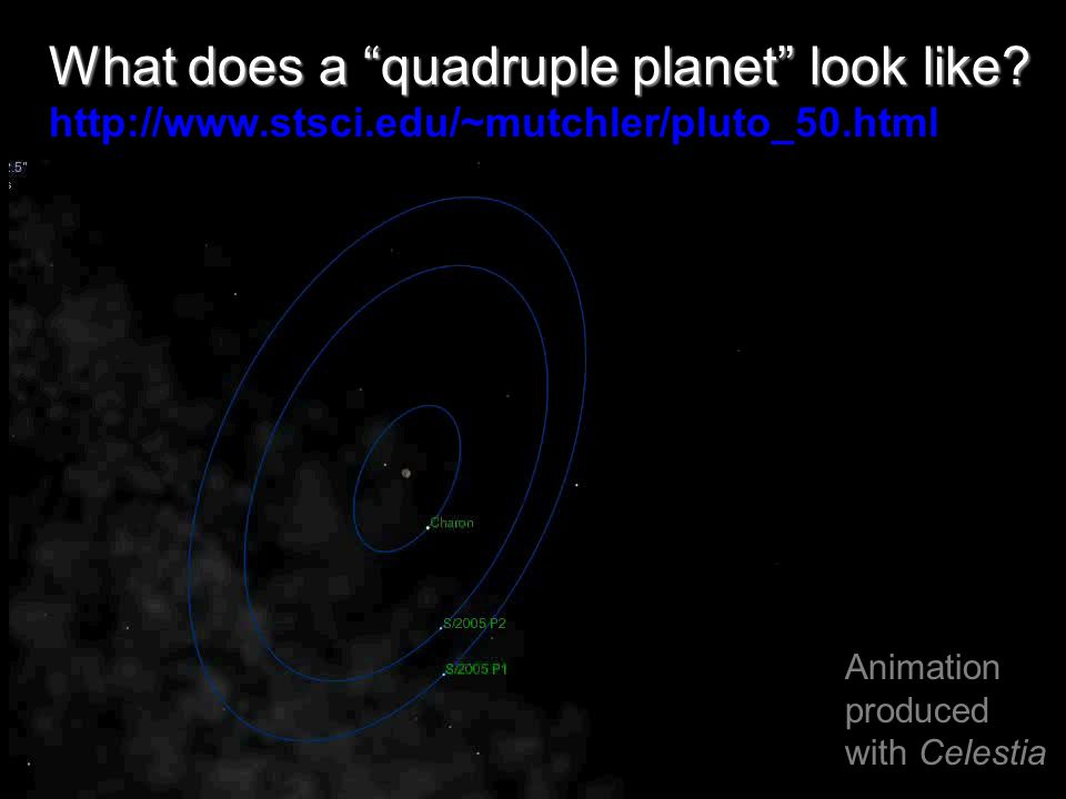 What does a quadruple planet look like.