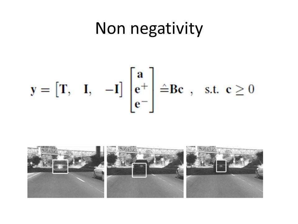 Non negativity