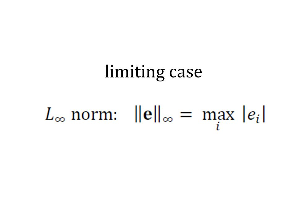 limiting case