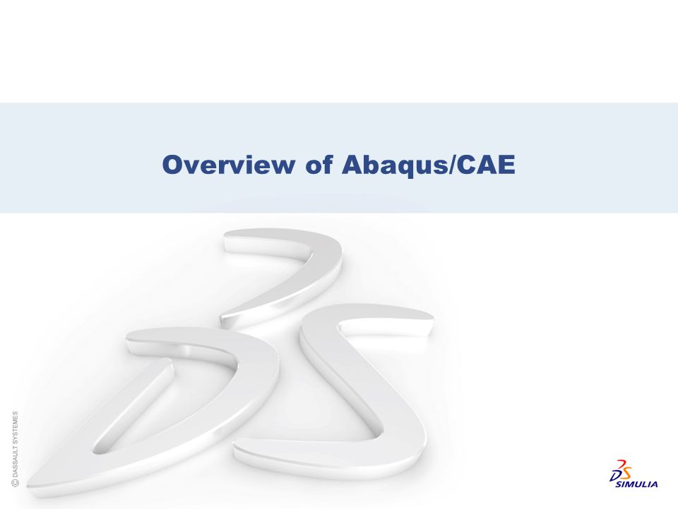 Overview of Abaqus/CAE