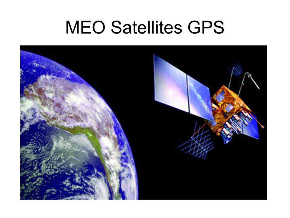 MEO Satellites GPS