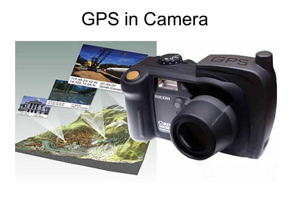 GPS in Camera