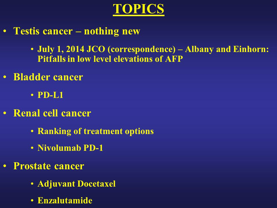 Enzalutamide Delayed Time to PSA Progression Presented By Andrew Armstrong at 2014 ASCO Annual Meeting