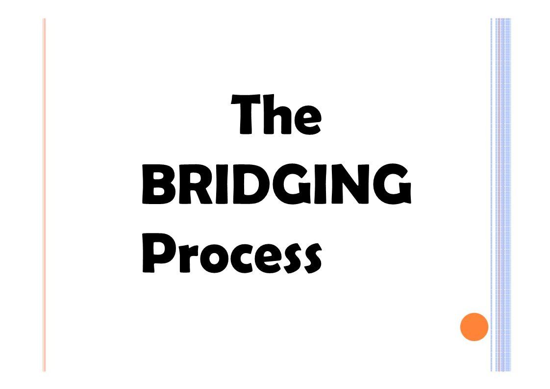 The BRIDGING Process