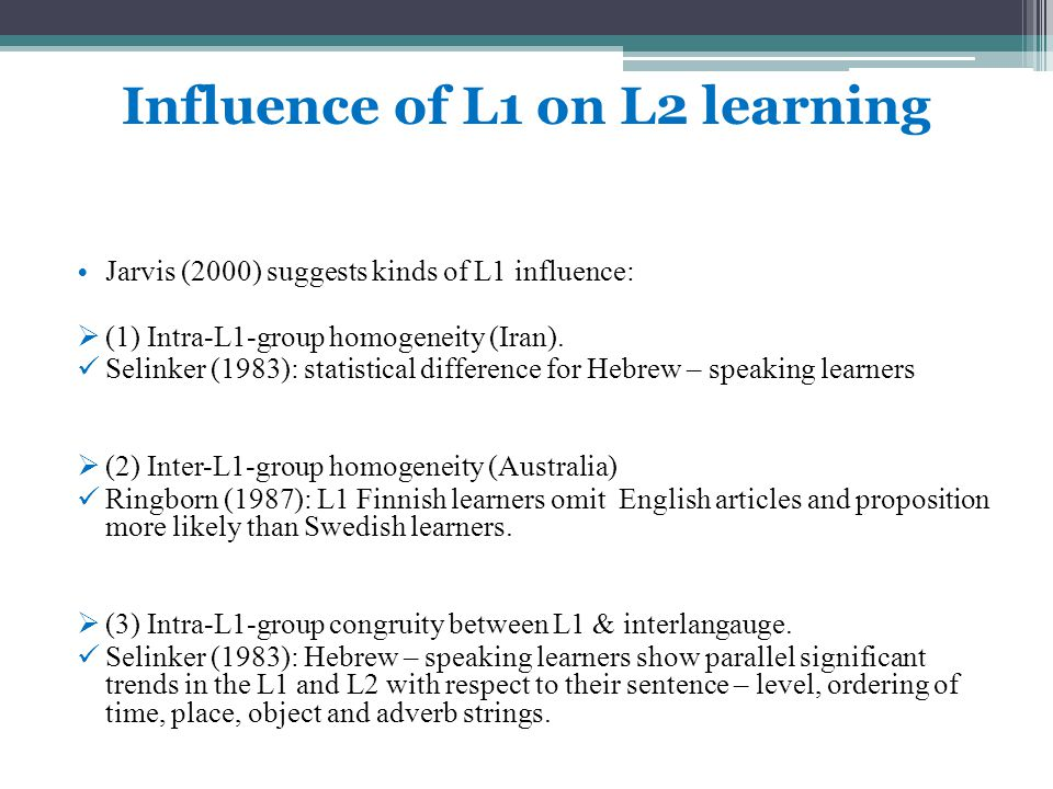 Research Question Does L1 listening strategy instruction in the EFL classroom improve students listening comprehension?