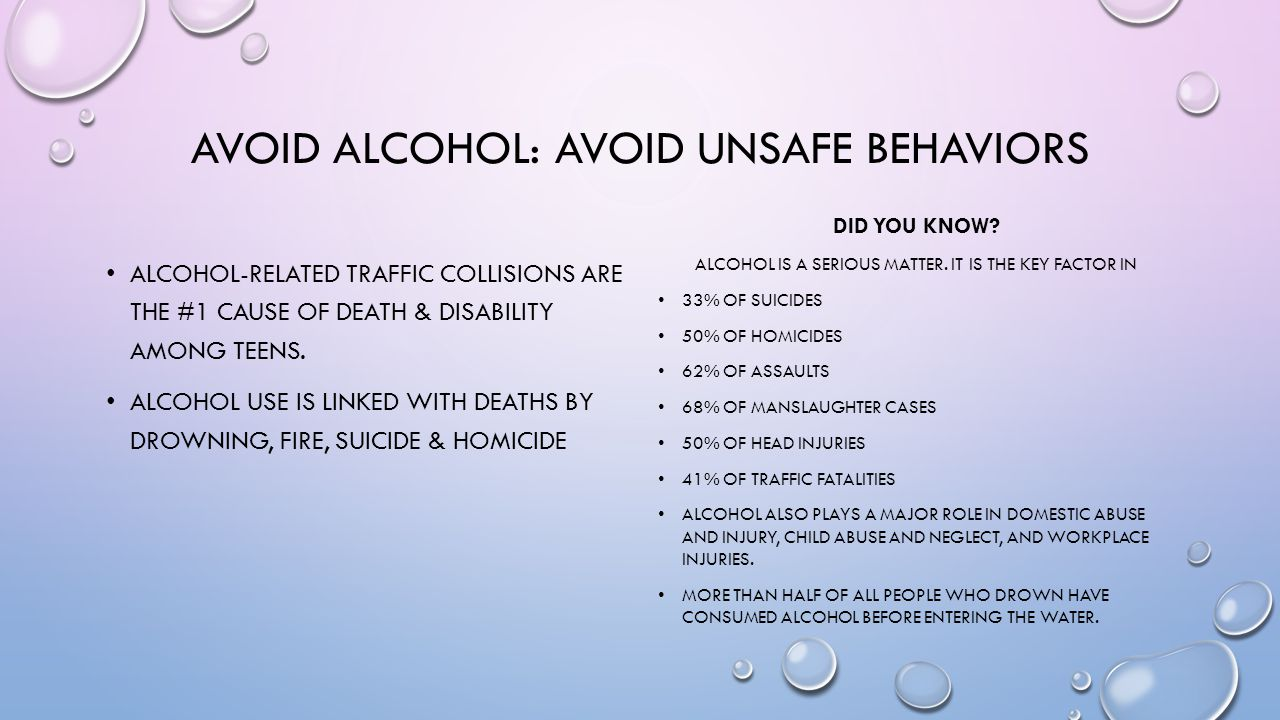 LONG-TERM EFFECTS OF ALCOHOL ON THE BODY IN TEENS ALCOHOL USE CAN INTERFERE WITH GROWTH & DEVELOPMENT.