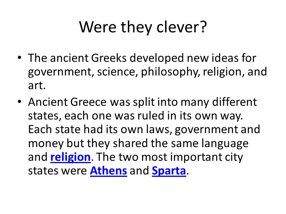 Ancient GreeceModern Greece