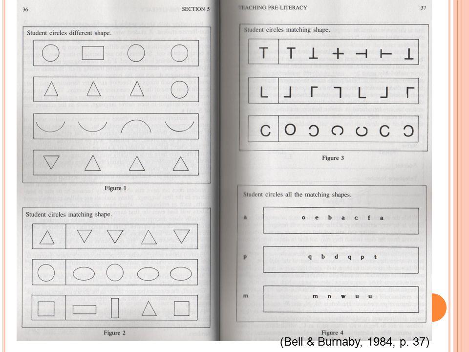(Bell & Burnaby, 1984, p. 37)