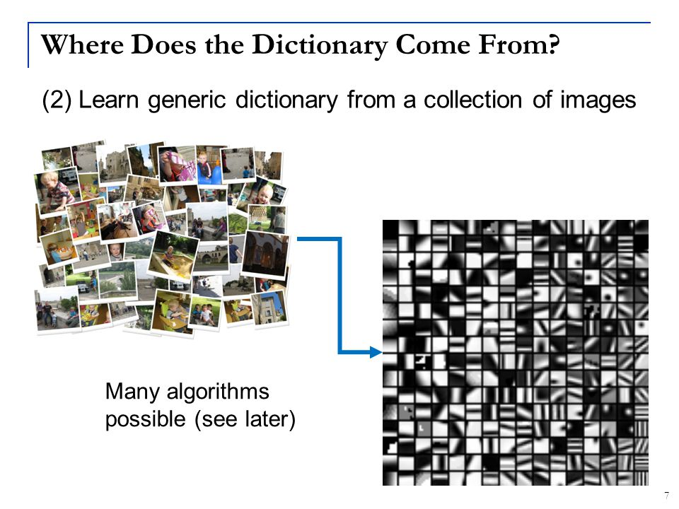 48 A Generic Mini-Epitome Dictionary Epitomic dictionary 256 mini-epitomes (16x16) Non-Epitomic dictionary 1024 elements (8x8) Both trained on 10,000 Pascal images