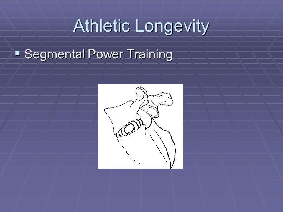 Athletic Longevity  Segmental Power Training