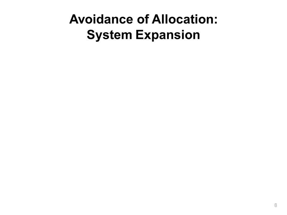 Avoidance of Allocation: System Expansion 8
