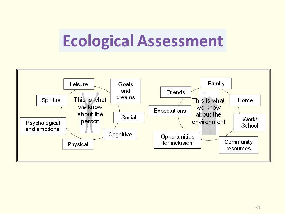 Ecological Assessment 21