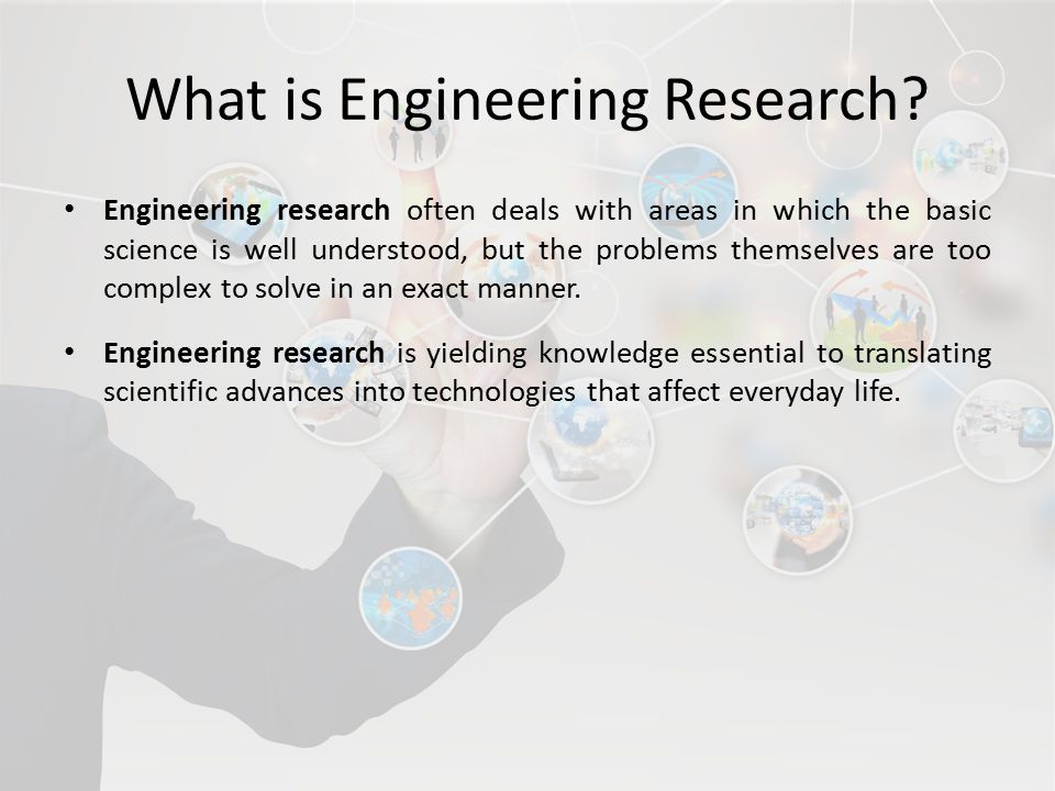 What is Engineering Research.